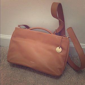 Skagen real leather handbag